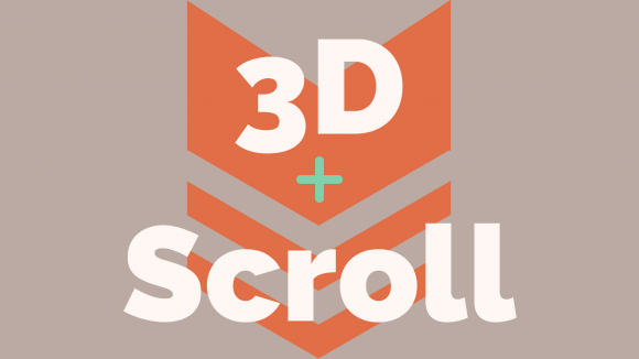 3Dのスクロールアニメーションを簡単に実装できるJQuery Tilted Page Scroll