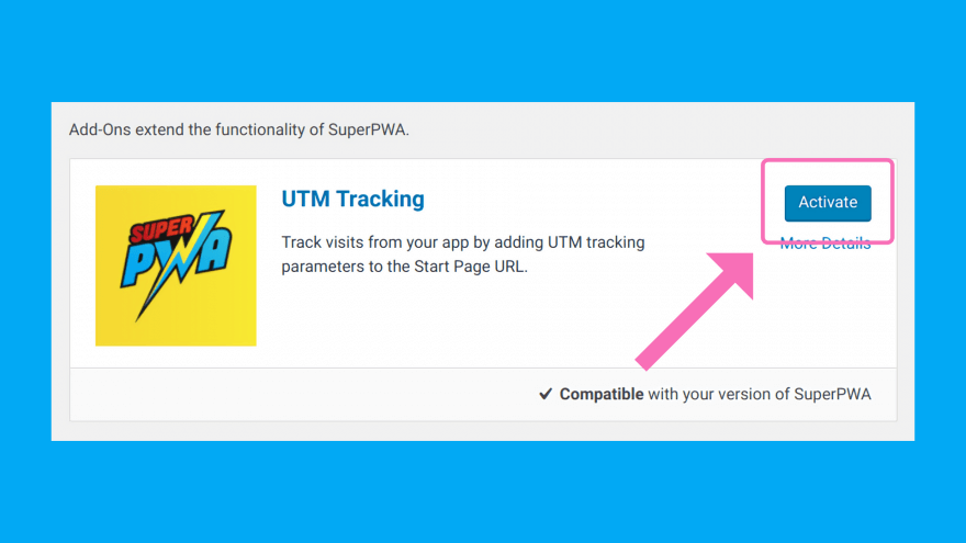 Super Progressive Web AppsのUTM Tracking