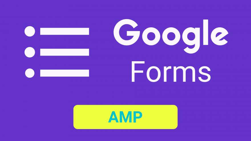 AMPページへのGoogleフォームの設置方法
