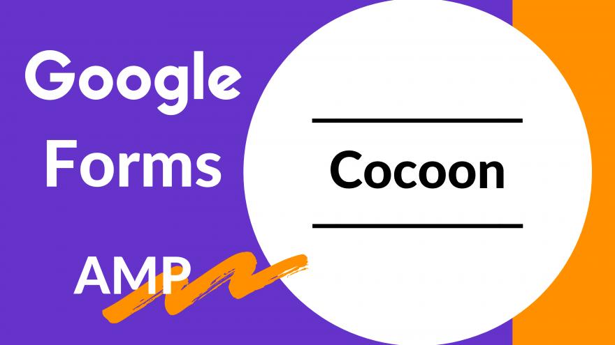 CocoonのAMPページでGoogleフォームの送信が可能になる方法