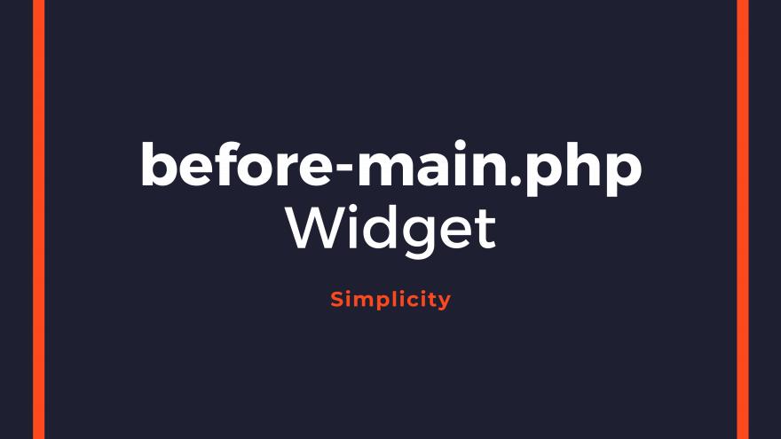 Simplicityのメニューの下にウィジェットエリアを追加するカスタマイズ