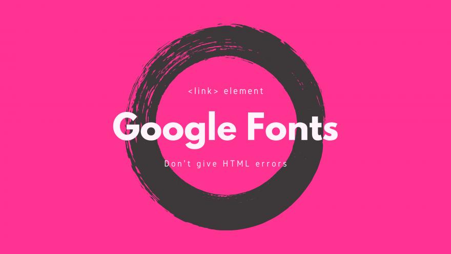 16進数の%7Cを使い1つのlinkタグで複数のGoogle Fontsを読み込む方法